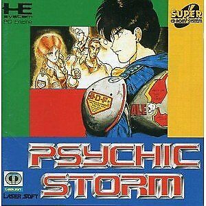 PSYCHIC STORM NEC PC Engine CD-Rom 2 Japan NEW