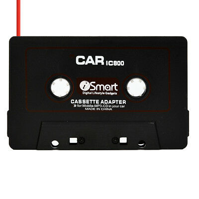 Car Automobile IC800 Cassette Casette Tape 3.5mm AUX Audio Adapter For MP3/MP4