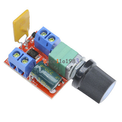 1/2/5PCS Mini DC 5A Motor PWM Speed Controller 3V-35V Control Switch LED Dimmer