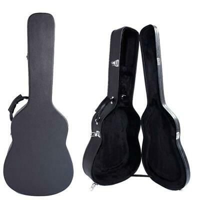 """39"""" Simple Style Artificial Leather Classical Guitar Hard Case Black"""