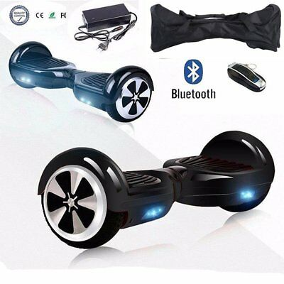 Bluetooth Hoverboard E-Balance Scooter Elektroroller Hover Board mit Tasche Sch.