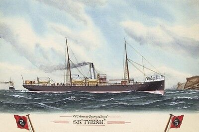 TYRIAN of Howard Smith & Sons, Melbourne Watercolour Modern Digital Postcard