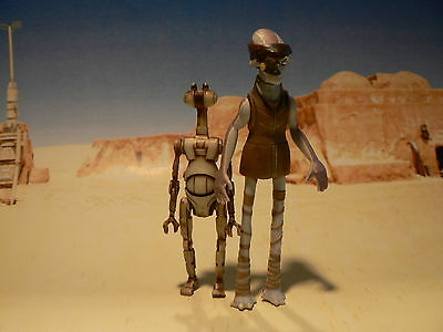 STAR WARS Ody Mandrell + Otoga 222 Pit Droid – EPISODE I Collection