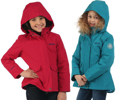Regatta Spinney Kids Waterproof Hydrafort Thermo-Guard Hooded Jacket