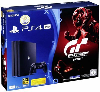 Sony PlayStation 4 Pro 1TB + GT Gran Turismo Sport (PS4)