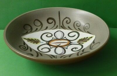 Glyn Colledge Bourne Denby Studio Pottery Bowl Hand Painted
