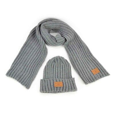 Set Sciarpa e Cappello - Beverly Hills Polo Club - Grigio