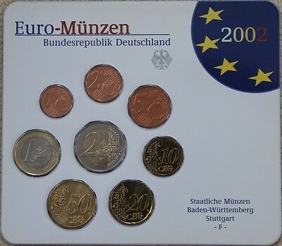 KMS Deutschland 2002 F, 3,88€, Stgl., in Blister