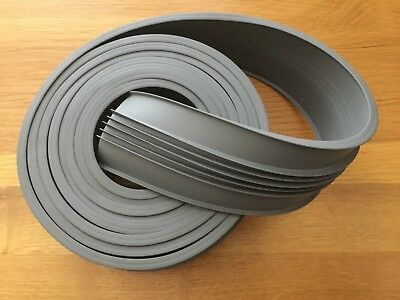 4m x Gliderol Roller Garage Door New Replacement Grey Rubber Weather Seal Trim