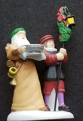 "Dept 56 Dickens' Village ""Here we come A-Wassailing"" #58410 Set of 5 Retired New"