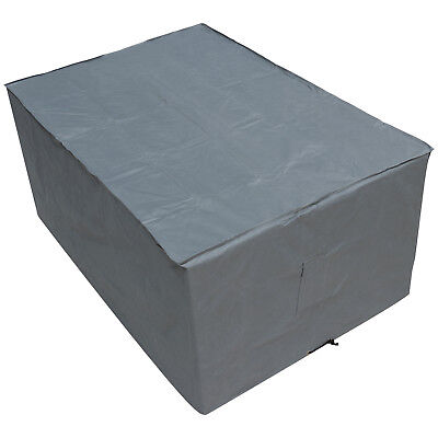 Oxbridge Grey Small Table Waterproof Outdoor Garden Furniture Cover
