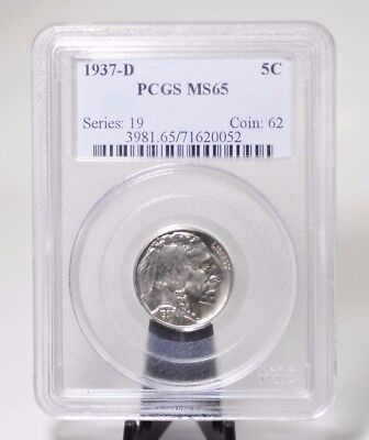 1937-D PCGS MS65 Buffalo Nickel [11LA]