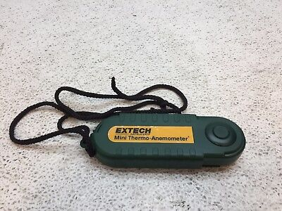 Extech 45158 Mini Waterproof Thermo Anemometer and Humidity Meter Good Condition