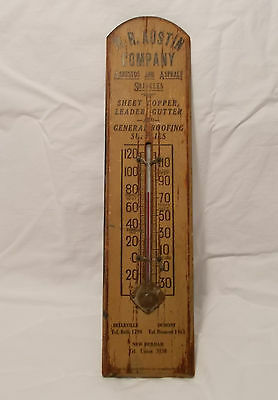 New Jersey Mid-Century Advertising Thermometer