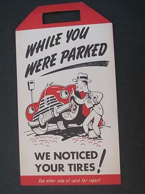 While You Were Parked Tire Report BF Goodrich Silvertowns Hadens SALISBURY NC