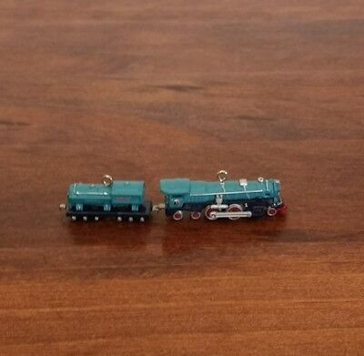 Lionel Blue Comet Steam Locomotive Tender Hallmark Keepsake Miniature 2003