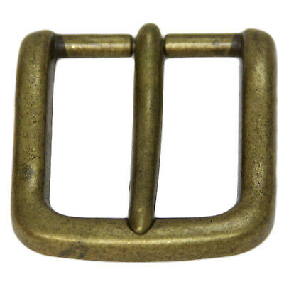 Replacement Belt Buckle For 1 3/8 Inch Width Old Brass Finish