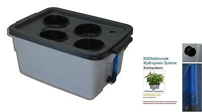 DWC Hydroponic system Complete kit by H2OtoGro #3