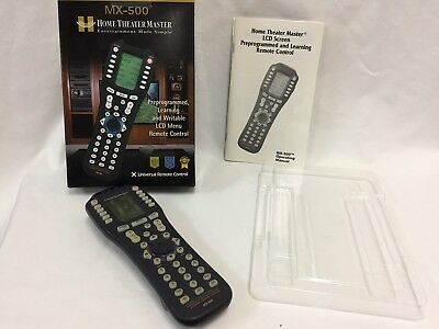 Home Theater Master MX-500 Universal Programmable Remote Control MX500