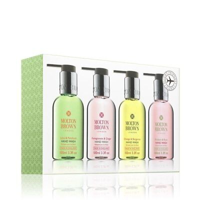 Molton Brown Bestsellers Travel Hand Wash Set 4 X 100ML