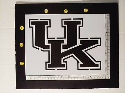 "UK University of Kentucky Wildcats 11"" x 8.5"" Custom Stencil FAST FREE SHIPPING"