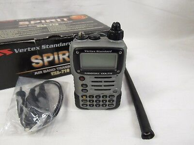 Vertex Standard VXA-710 Spirit Air Band Transceiver