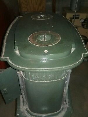 Wood/coal stove with side oven. Good condition with stove pipe