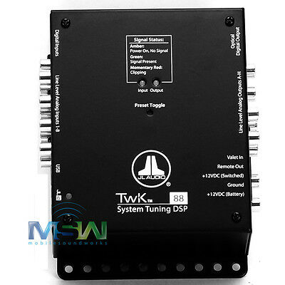 *NEW JL AUDIO TwK-88 SYSTEM TUNING DIGITAL SIGNAL PROCESSOR 8 CH. INPUT & OUTPUT