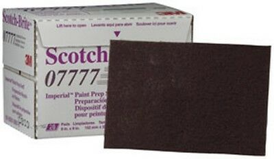 "Scotch-Brite Imperial Paint Prep Scuff Pad 07777 Maroon, 9"" x 6"", 20 pads/box"
