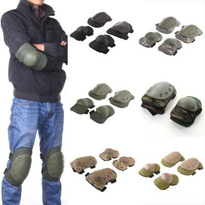 Chic Tactical Military Elbow Knee Protective Pad Paintball Skate Airsoft Combat