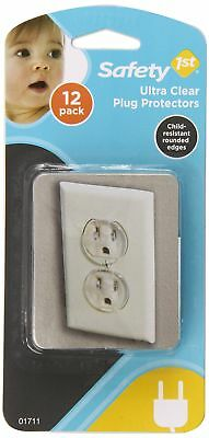 1st 12 Pack Baby Ultra Clear Outlet Protective Guard Plugs Electrical Safety