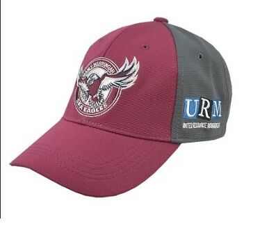 Manly Sea Eagles NRL 2018 Players ISC Media Cap! In Stock!