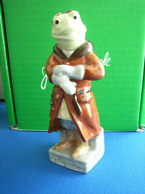 Beswick Toad  Boxed With Certificate Wind In The Willows  Wiw 2   Royal Doulton