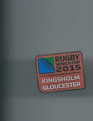 Rugby World Cup 2015  Rugby Union Badge Kingsholme Gloucester