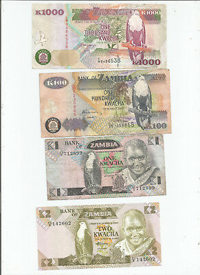 Zambia  Four  Notes