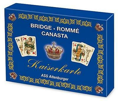 ASS Altenburger 22570070 - Kaiserkarte, Bridge, Rommé, Canasta, Edition