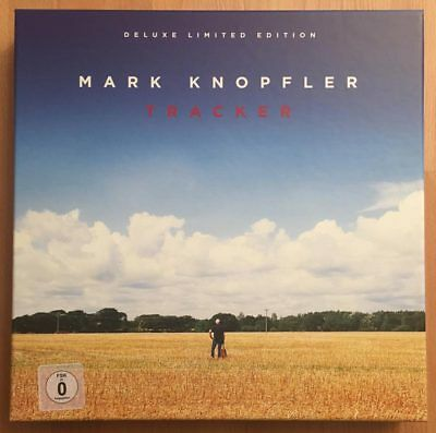 MARK KNOPFLER - Tracker - Limited Super Deluxe Edition 2-LP/CD/DVD Dire Straits