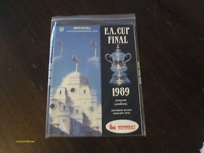 Fa Cup Final - May 1989 - Everton V Liverpool - Programme (Original - Fine+)