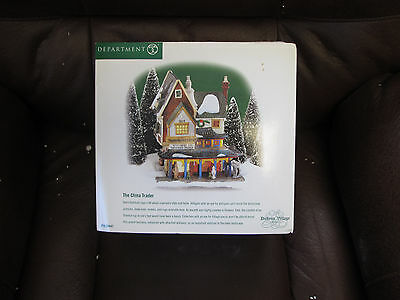 "Nib Department 56 Dicken's Village Series ""the China Trader"" Heritage # 56.58447"