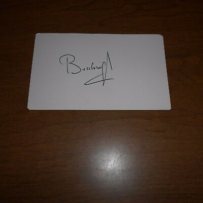 Vere Brabazon Ponsonby, 9th Earl of Bessborough  Hand Signed Card
