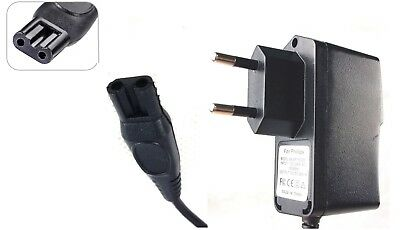 2 Pin Charger Power Lead Cord For Philips One Blade Trimmer
