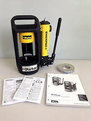 Parker Hannifin Minikrimp 94C-001-PFD Hose Crimping Machine for Hydraulics