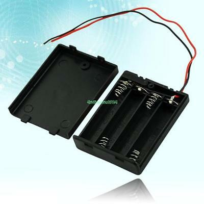 EE4070 4 AAA Battery Holder Case With On / Off Switch 4844672