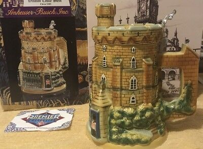 "Anheuser Busch (Budweiser) Windsor Castle Stein ""CS528"" #0215 Of 5000"