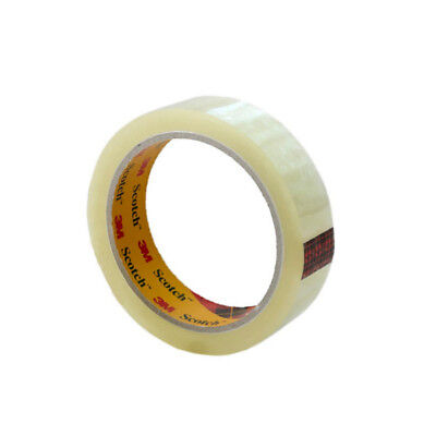 "Clear Sticky Tape Packing Scotch Sellotape 1"" 25Mmx66M Cellotape Packaging"