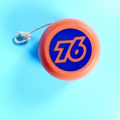 VTG 60s 70s Union 76 Gasoline Orange Yo-Yo Service Station Promo Toy Yo Yo Logo