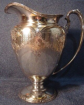 Wilcox Silverplate Company Cluny #778  international - Water Pitcher