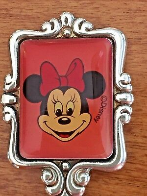 Souvenir spoon vintage collectible Minnie Mouse portrait frame Disneyland WDW