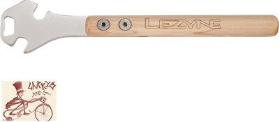 """Lezyne Classic Pedal Rod Wrench And Bottle Opener Bicycle Tool--14.2"""""""