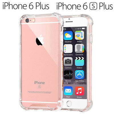 Funda Gel TPU Transparente Antigolpes para iPhone 6 Plus - iPhone 6S Plus